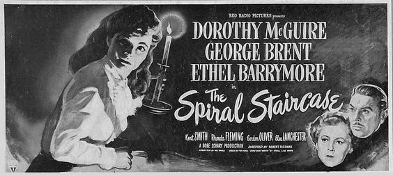 The Forgotten '40s: THE SPIRAL STAIRCASE as an Early Example of a Slasher Film